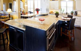 Tradional Kitchen spacious
